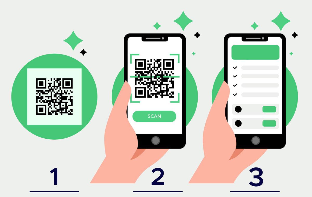 QR Code scannen (Bild: Freepik)