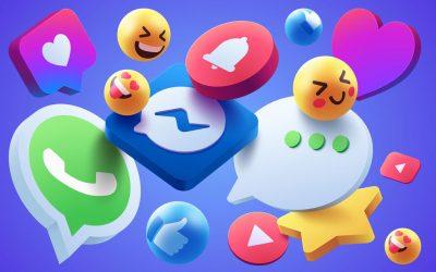 Emojis + Messenger (Bild: Freepik)