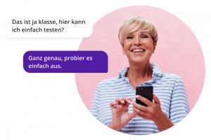 Multi-Kanal-Kontaktcenter Messaging Kanäle Inbox WhatsApp Facebook Webchat, Testumgebung