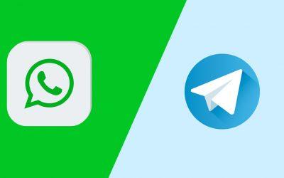 WhatsApp vs Telegram Vergleich (Bild: Freepik)